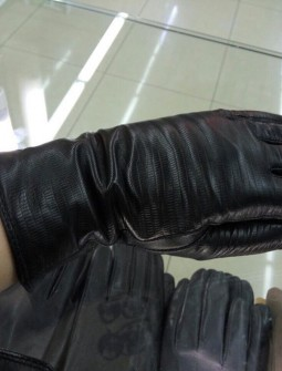 Кожаные перчатки №287