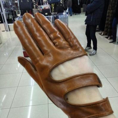 Кожаные перчатки №277