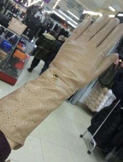 Кожаные перчатки №278