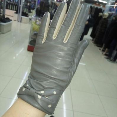 Кожаные перчатки №292