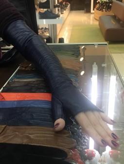 Кожаные перчатки №282