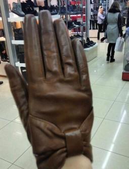 Кожаные перчатки №286