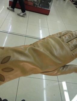 Кожаные перчатки №301