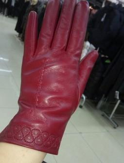 Кожаные перчатки №302