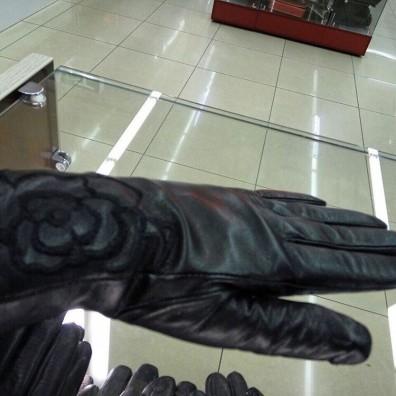 Кожаные перчатки №303