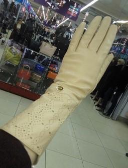 Кожаные перчатки №305