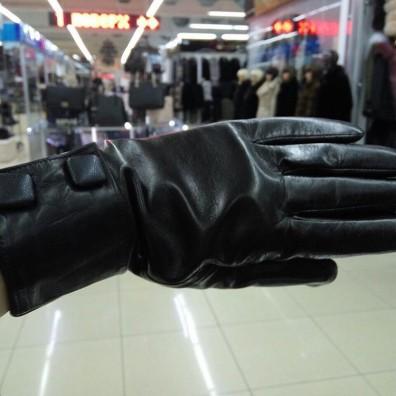 Кожаные перчатки №307