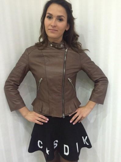 Кожаная куртка № 112