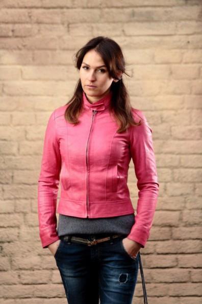 Кожаная куртка № 118