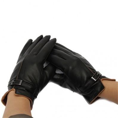Кожаные перчатки № 78