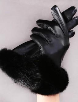Кожаные перчатки № 55