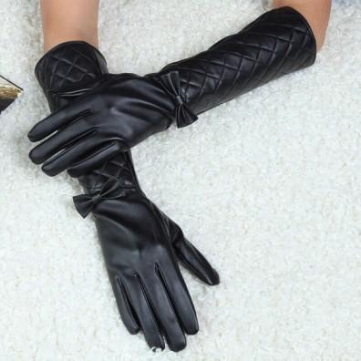 Кожаные перчатки № 58