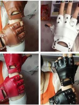 Кожаные перчатки № 68