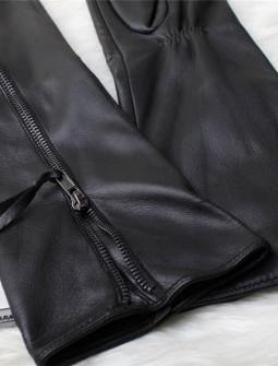 Кожаные перчатки № 69