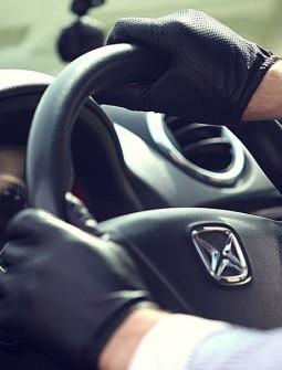 Кожаные перчатки № 70