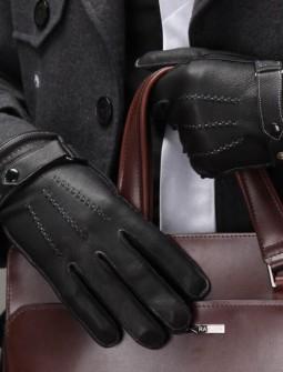 Кожаные перчатки № 71