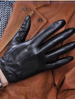 Кожаные перчатки № 76