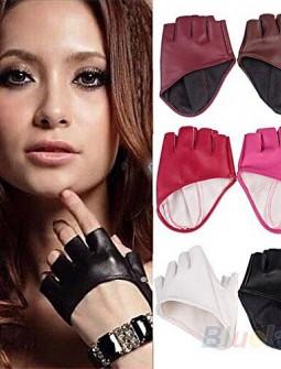 Кожаные перчатки № 77