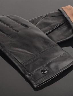 Кожаные перчатки № 79