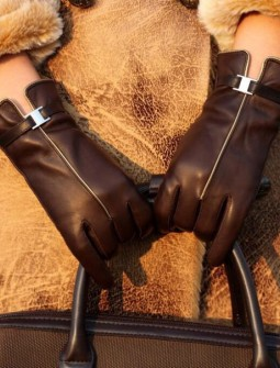 Кожаные перчатки № 62