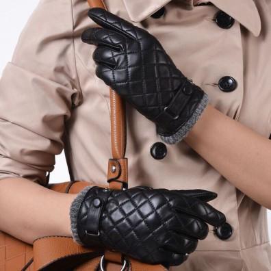 Кожаные перчатки № 64