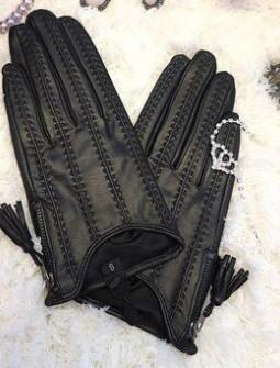 Кожаные перчатки № 65