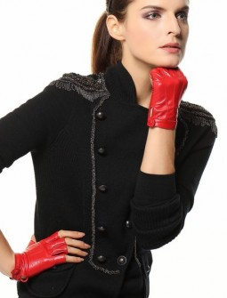 Кожаные перчатки № 67